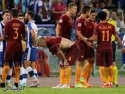 روما يودع دوري الابطال بخسارة دراماتيكية امام اشبيليه