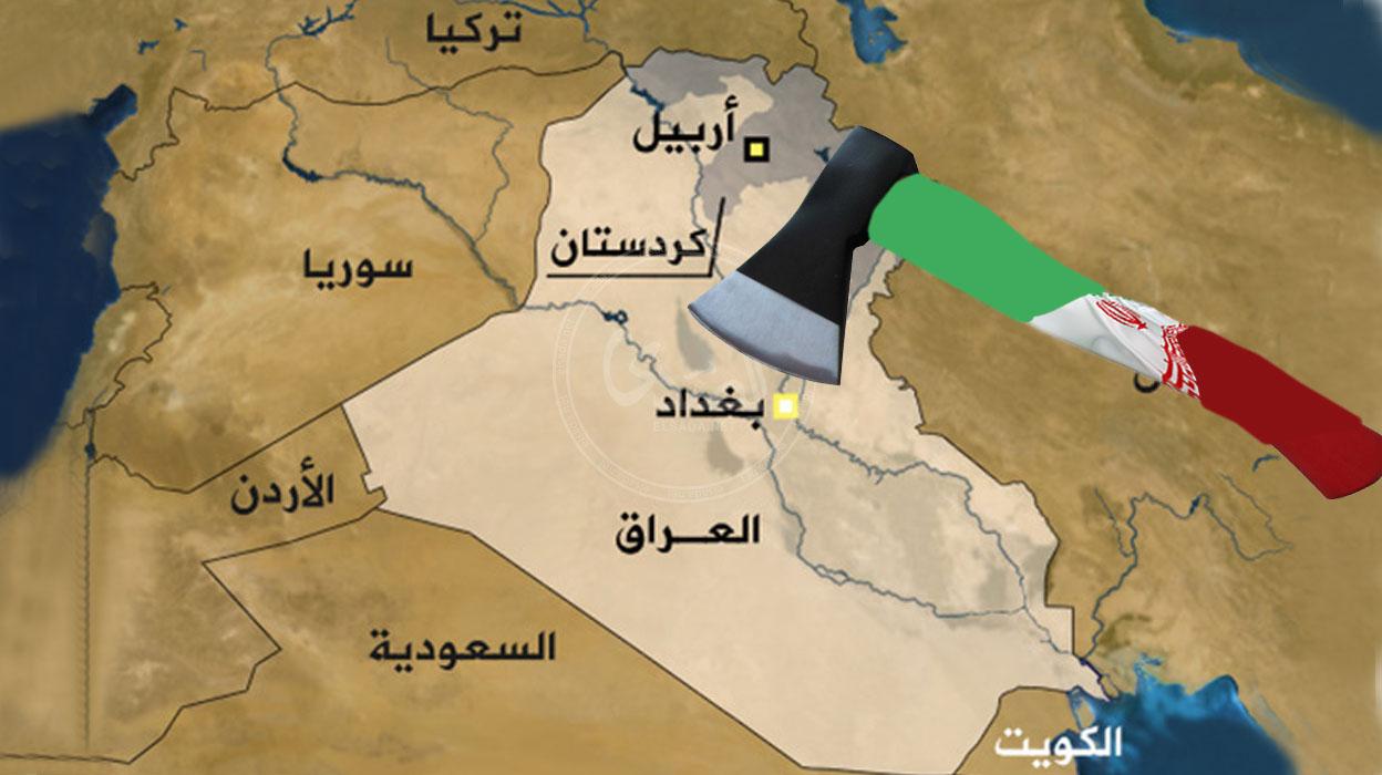 هكذا ستقسم أيران العراق؟