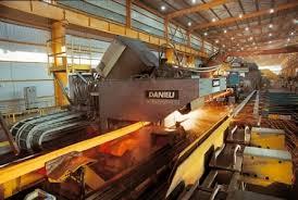 الشروع بنصب معدات تركية في مصنع الحديد والصلب بالبصرة
