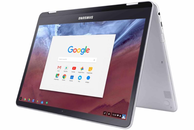 سامسونج تطلق أول Chromebook يمكن تحويله لتابلت