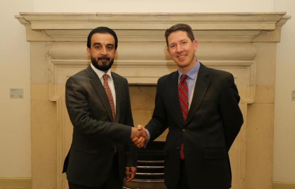 Al-Halbousi Meets Middle East File in British Cabinet Image