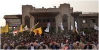 """مصادر من البصرة : حملة واسعة لاغلاق المكاتب """" الوهمية """" التي تنتحل صفة الحشد الشعبي"""