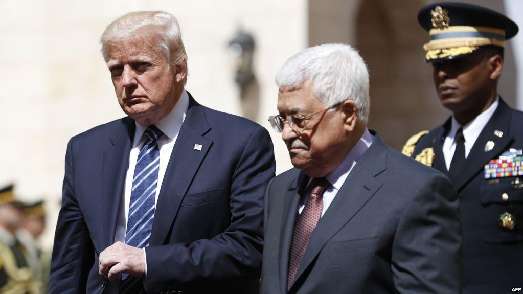 ترمب يصل الى بيت لحم ويلتقي الرئيس عباس