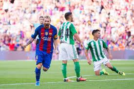 برشلونة يفتتح مشواره فى الدورى الإسبانى أمام ريال بيتيس