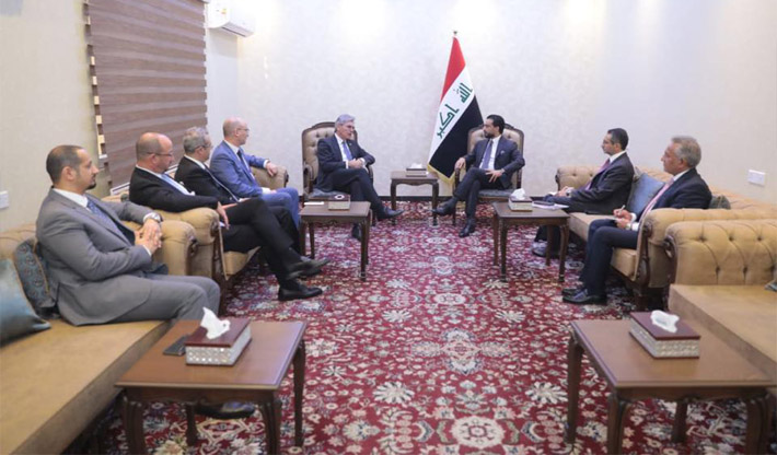 Parliament Speaker calls on Siemens to partner with local sector and employment of Iraqi workers Image