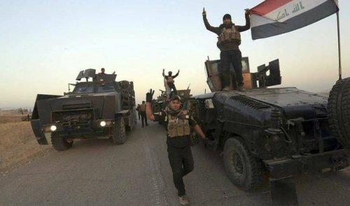 القوات الأمنية تحرر حي الميثاق في الساحل الايسر لمدينة الموصل