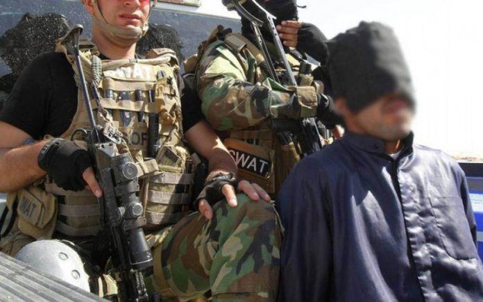 """القبض على قيادي خطير بتنظيم """"داعش"""" اثناء محاولته الدخول الى كركوك"""