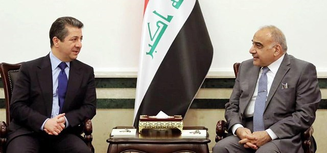 A high-ranking delegation from Baghdad is discussing the return of the Peshmerga to Kirkuk and a host of important issues Image