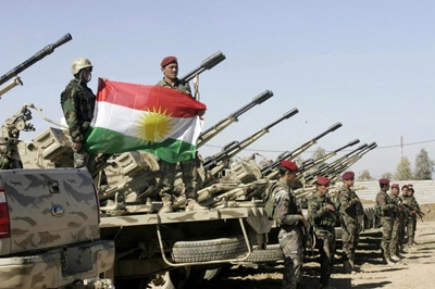 Peshmerga - 16 countries provide us with weapons and 95 percent of the liberated areas