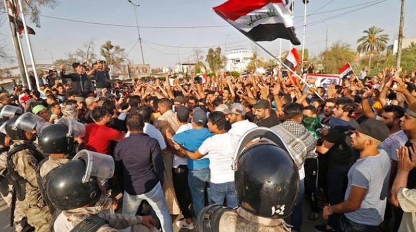 تقرير: فصائل تدعمها إيران نشرت قناصة في احتجاجات العراق