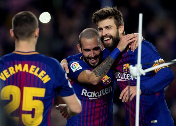 برشلونة بالصف الثاني ينجو من انتفاضة سيلتا فيغو ويبقى بلا هزيمة