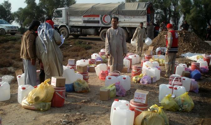 اعادة تأهيل الوحدة الطبية بمنطقة الدولاب في محافظة الانبار