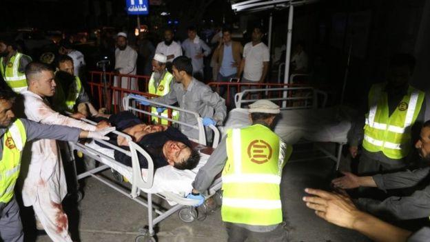 """63 قتيلا في تفجير """"انتحاري"""" استهدف حفل زفاف في كابول"""
