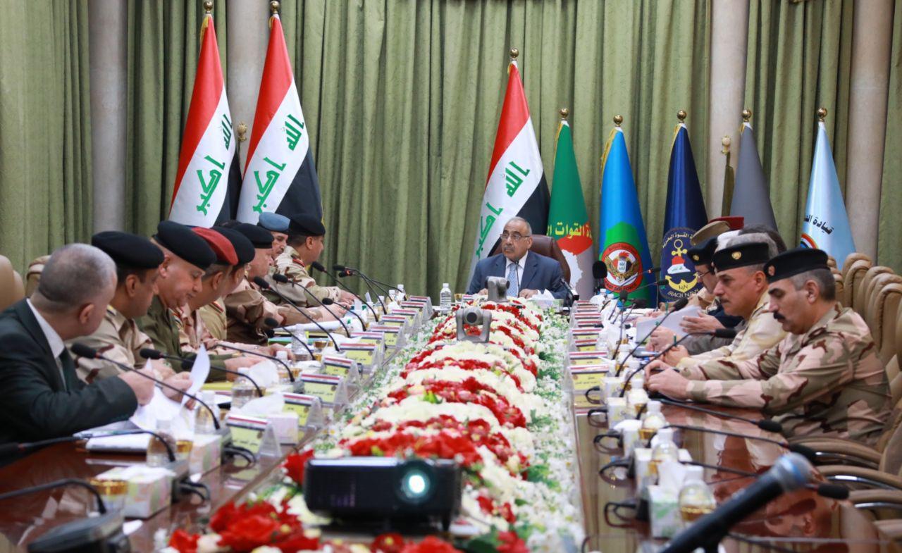 عبدالمهدي يبحث عقود التسليح في وزارة الدفاع