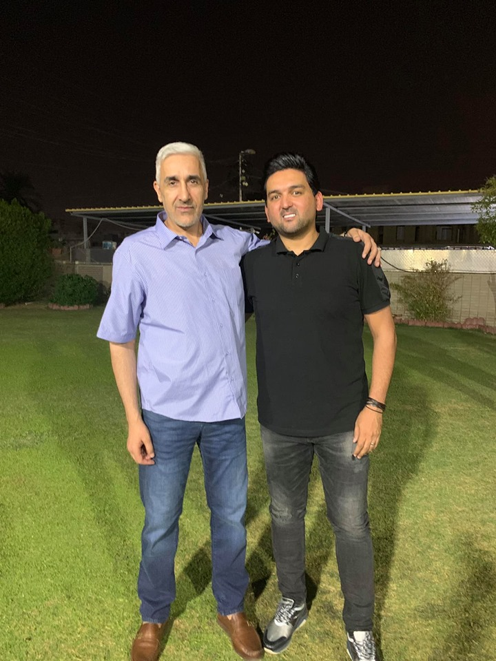 وزير الشباب والرياضة يلتقي بنشأت اكرم ويناقشان حظوظ المنتخب الوطني في غرب آسيا