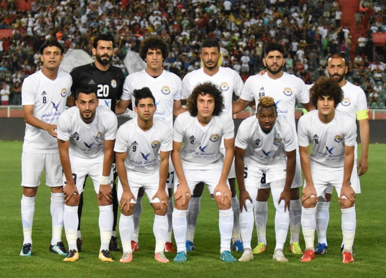 الزوراء يواصل التحضير لمواجهة نادي الحسين
