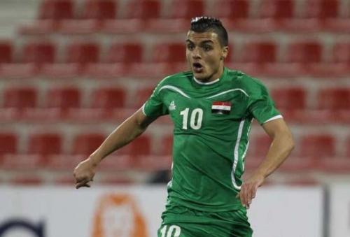 لاعب المنتخب الوطني أحمد ياسين ينضم الى صفوف فريق معيذر القطري على سبيل الإعارة
