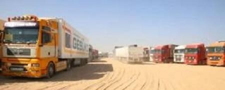 الأمن الوطني ينفي مصادرة شحنة تجارية تابعة لأحد رجال الأعمال في منفذ الصفرة