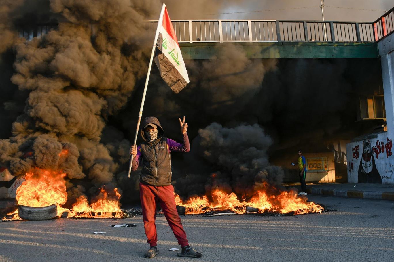 حقوق الانسان تصدر بيانا حول تصعيد التظاهرات في بغداد والمحافظات خلال اليومين الماضيين
