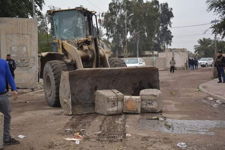 افتتاح شارع مغلق منذ 16 عاماً في بغداد