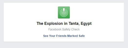 """""""فيس بوك"""" يفعل ميزة Safety Check فى مصر"""