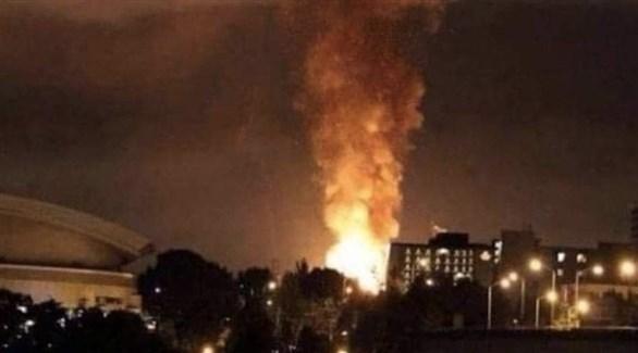 انفجار ضخم قرب موقع عسكري حساس بطهران