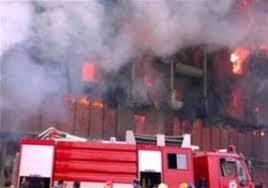 نشوب حريق في سوص رئيس بدهوك ووقع اصابات واضرار مادية