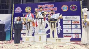 العراق يحصد الوسام البرونزي في بطولة العالم للكيوكوشنكاي