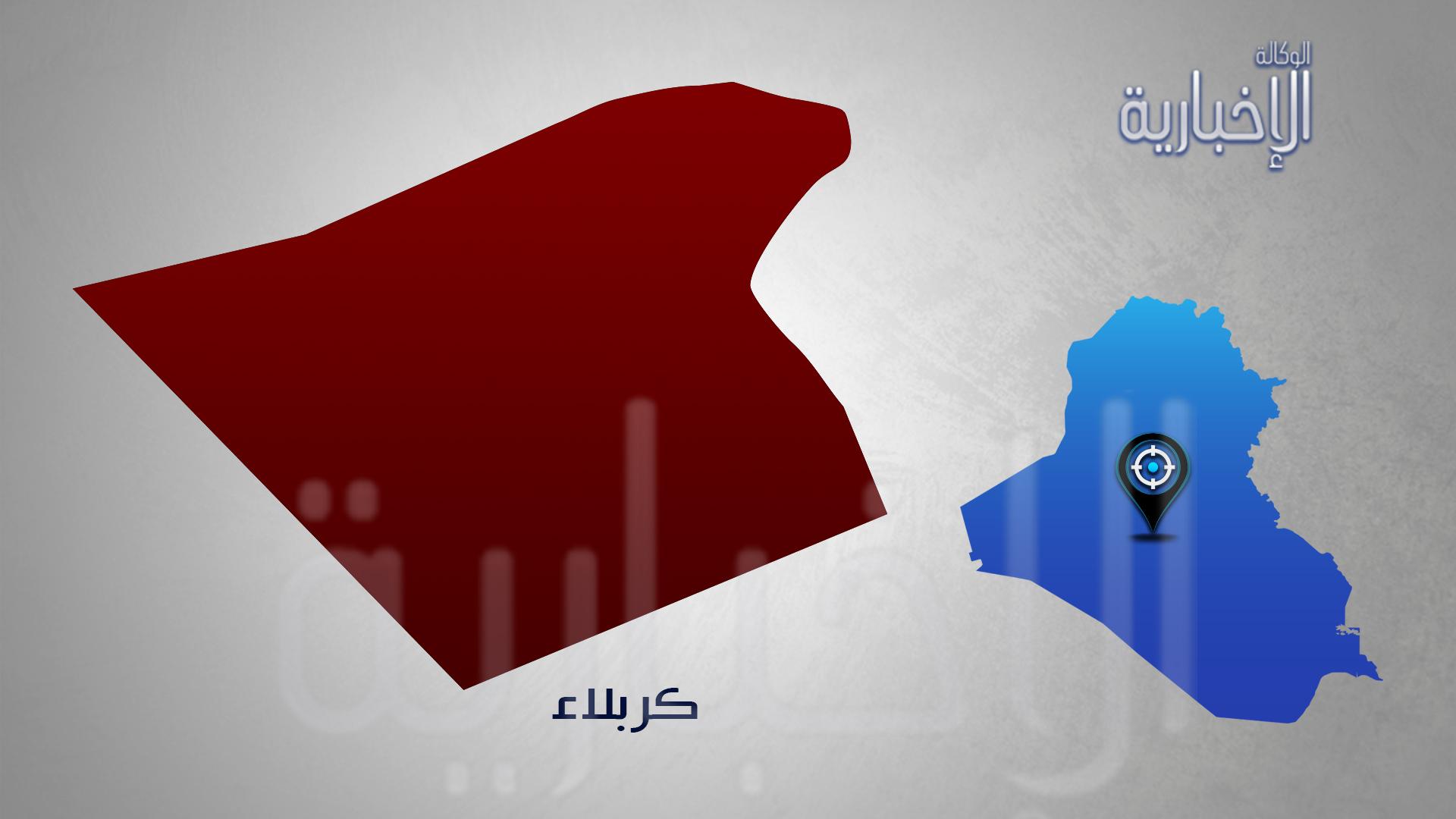 مصرع واصابة 7 اشخاص بحادث اصطدام عجلة باحد المواكب على طريق كربلاء – نجف
