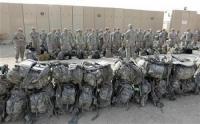 عاجل : انسحاب الحشد الشعبي من الرمادي مع وصول قوات امريكية قتالية