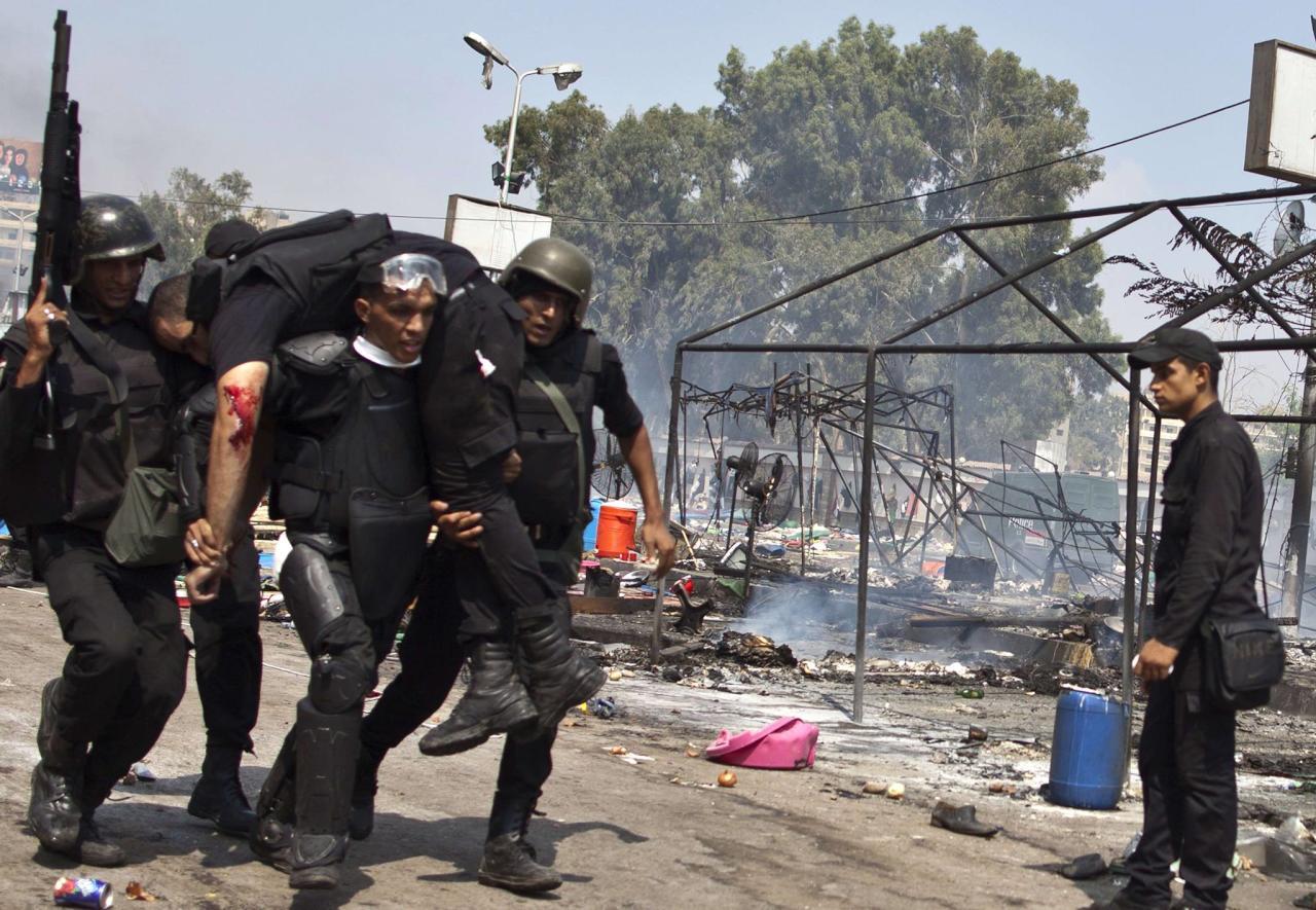 مقتل ضابط شرطة مصري شمالي سيناء