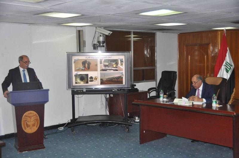 الجنابي يدعو على ضرورة الحفاظ على المياه الجوفية واستثمارها في البلاد