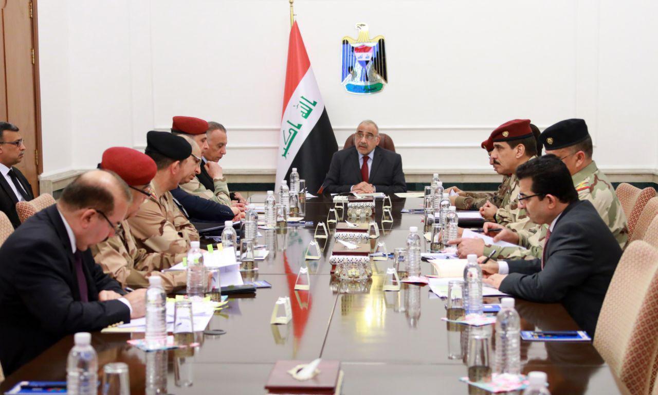 مجلس الامن الوطني يناقش ميزانية وزارتي الدفاع والداخلية
