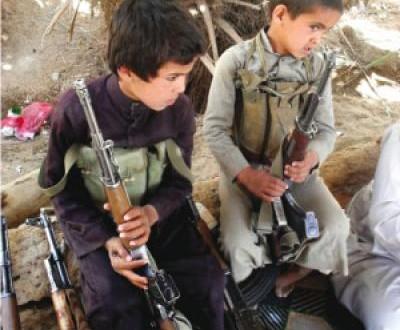 داعش تقطع ايدي طفلين امتنعا عن تنفيذ الاوامر في الموصل