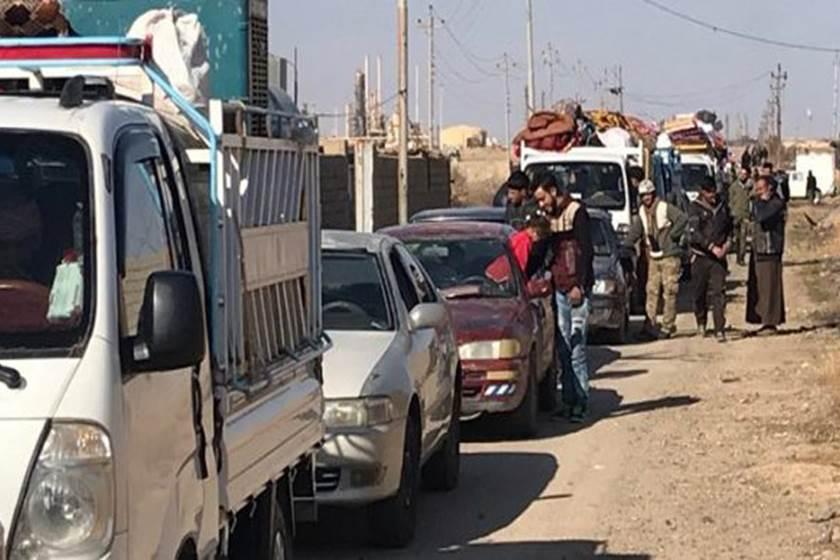 عودة ١٥٠٠ نازح الى مناطقهم بعد غلق مخيم داقوق  بكركوك