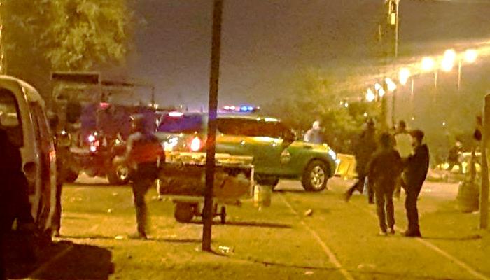 انفجار انتحاري بحزام ناسف في ساحة عدن شمالي بغداد