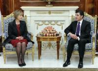 كرواتيا تواصل دعم كردستان والبارزاني يتعهد بتقديم كافة التسهيلات لفتح قنصليتها في أربيل