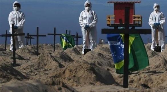 البرازيل تتخطى عتبة المليون إصابة بكورونا