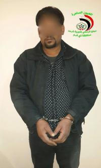 القبض على مطلوب بتهمة الارهاب شمال الناصرية