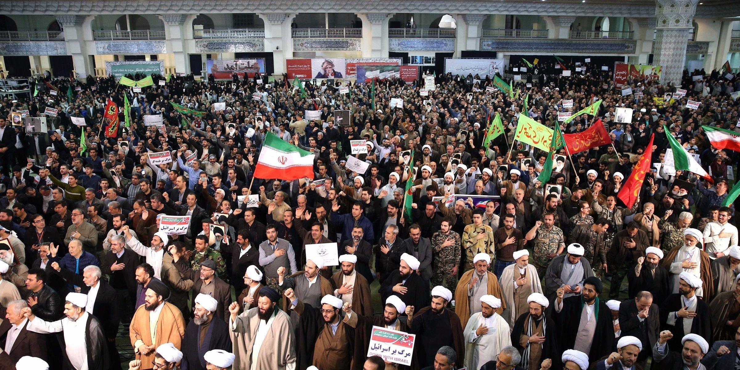 لليوم السابع على التوالي .. مظاهرات ايران في تصاعد