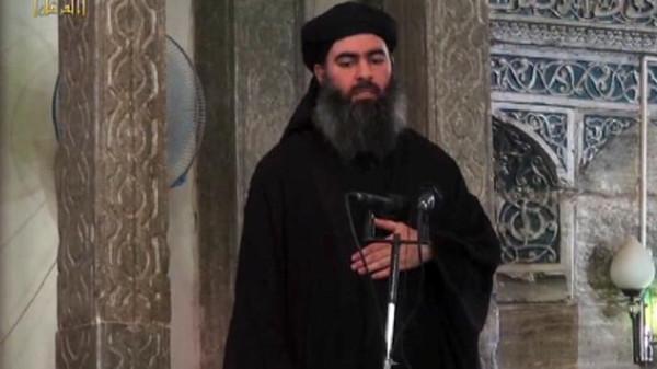 """البغدادي يدعو أتباعه الارهابيين الى """"الثبات"""" وعدم الانسحاب أو الهرب من مواجهة القوات العراقية"""