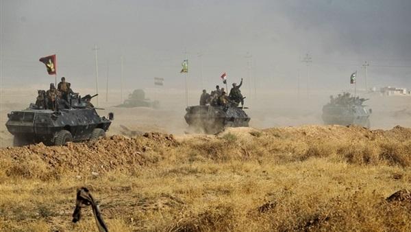 القوات المشتركة تحرر قريتي الركراك والنايفة في الموصل