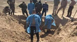 العثور على مقبرة جماعية لضحايا مغدورين من قبل داعش