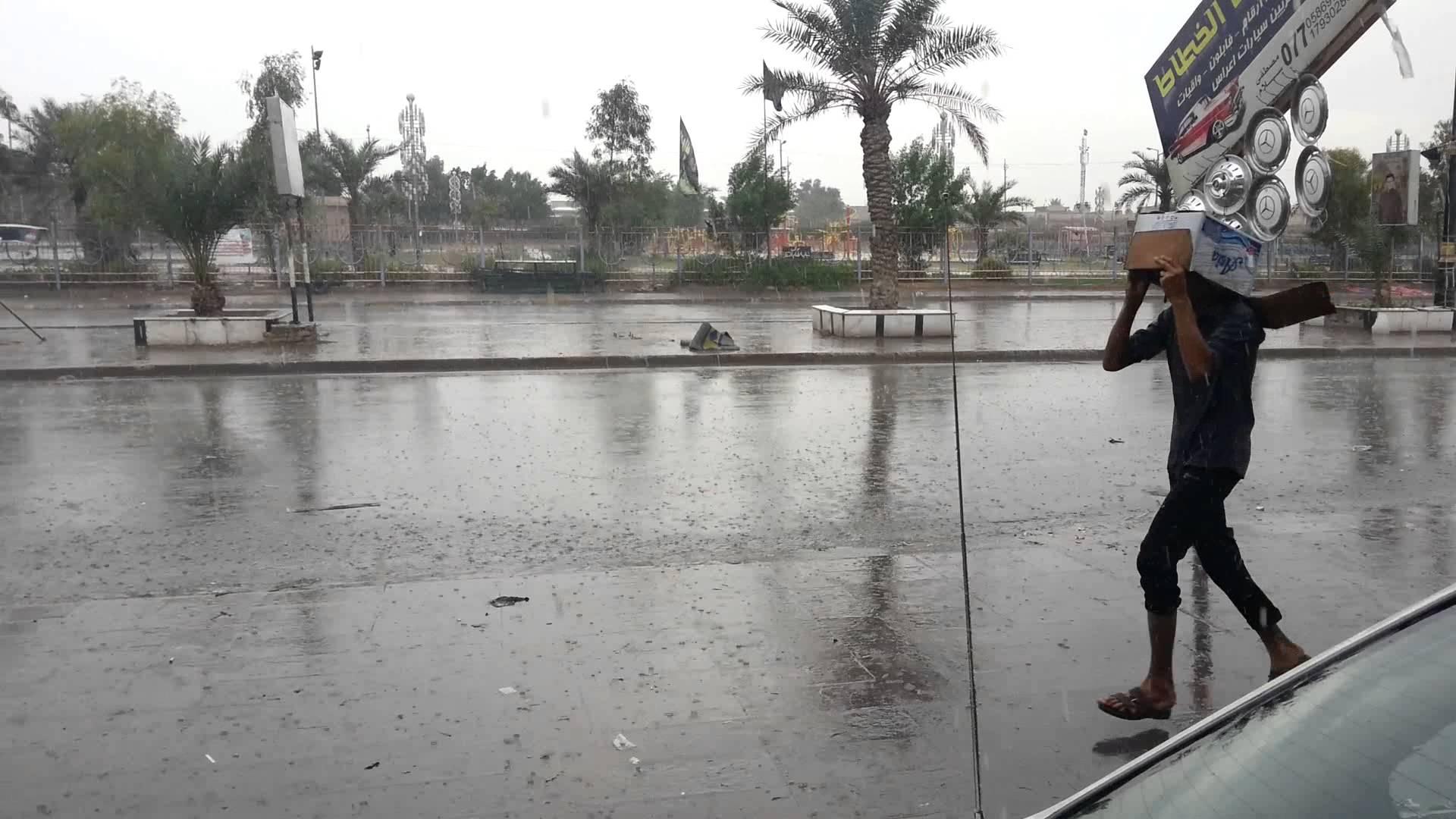 هل تغيث الامطار أزمة العراق المائية؟