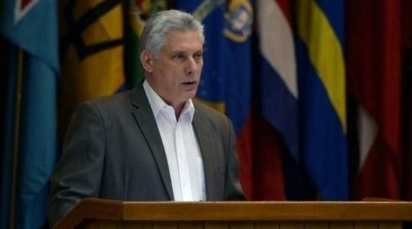 الرئيس الكوبي يتهم إدارة ترامب بخنق اقتصاد بلاده