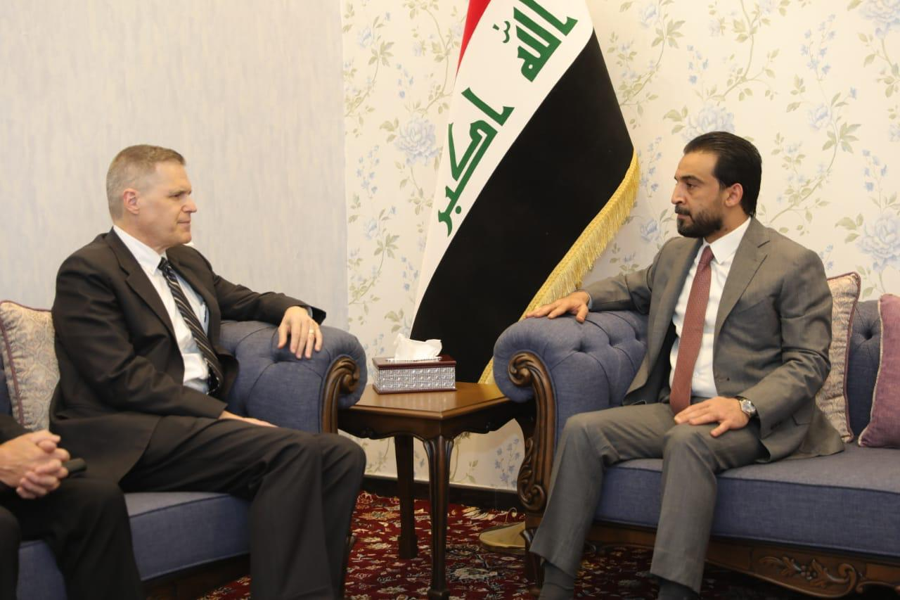 Halbousi stresses the importance of strengthening cooperation between Baghdad and Washington Image