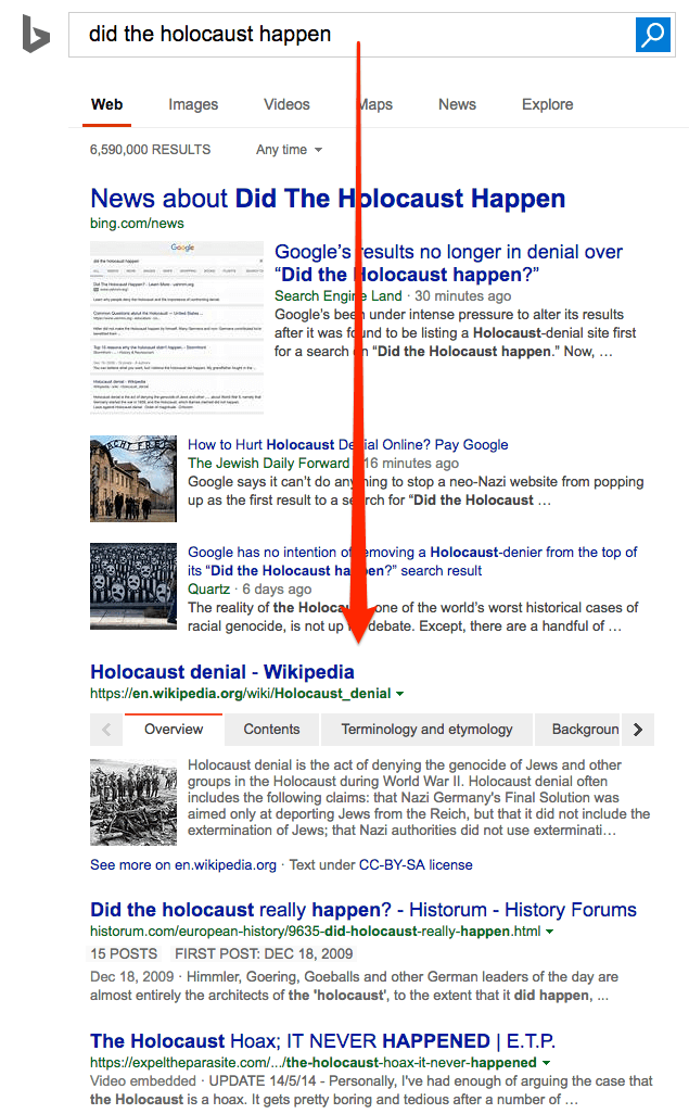 جوجل تزيل نتائج بحث تنفى وقوع محرقة الهولوكوست