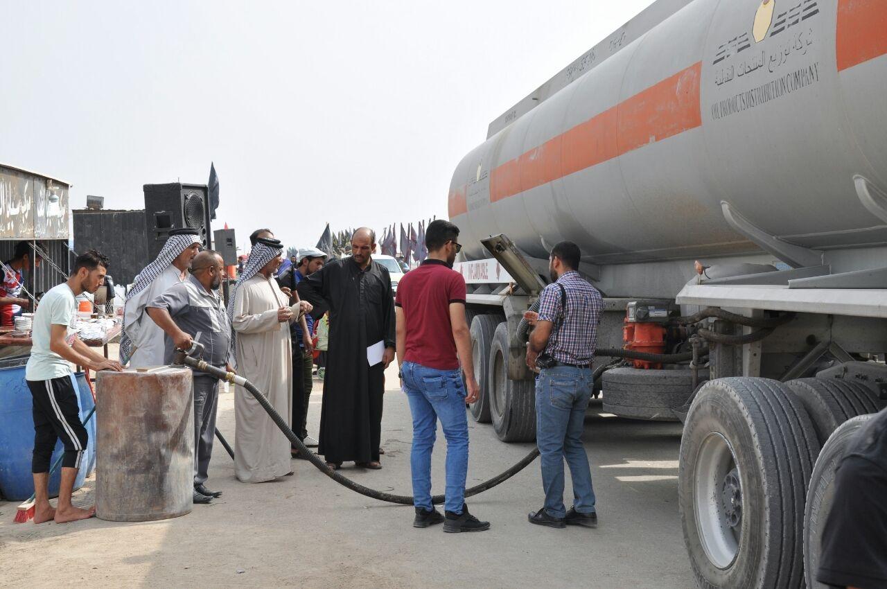 تجهيز محافظة كربلاء المقدسة بـ ٩ مليون لتر بنزين و٧ مليون لتر گاز خلال ايام محرم