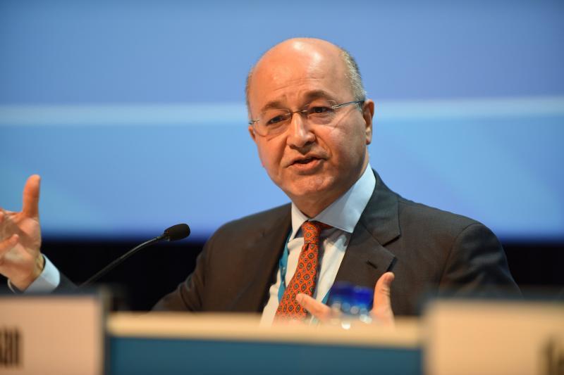 صالح يبحث مع مساعد وزير الخارجية الامريكي ضرورة دعم العراق في حفظ امنه