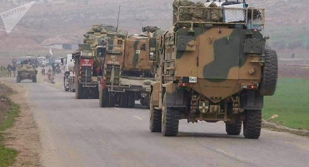 الجيش التركي يسيطر على قرية أم العصافير شمال سوريا